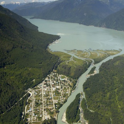 Bella Coola Townsite estuary