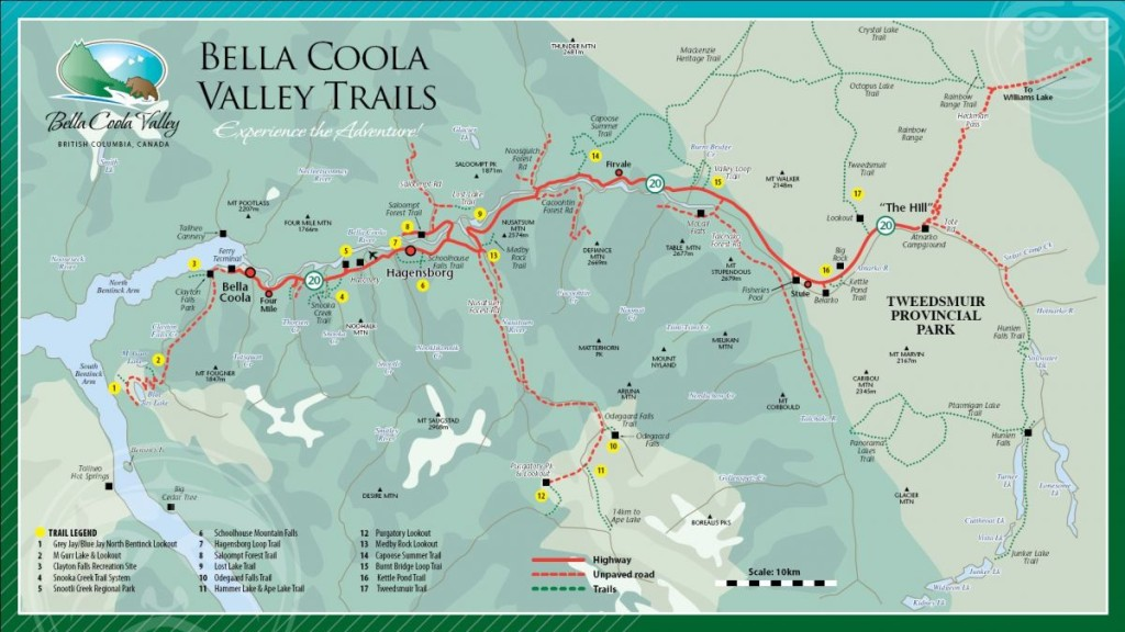 Bella Coola trails
