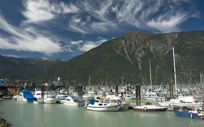 wharf, harbour, central coast, BC