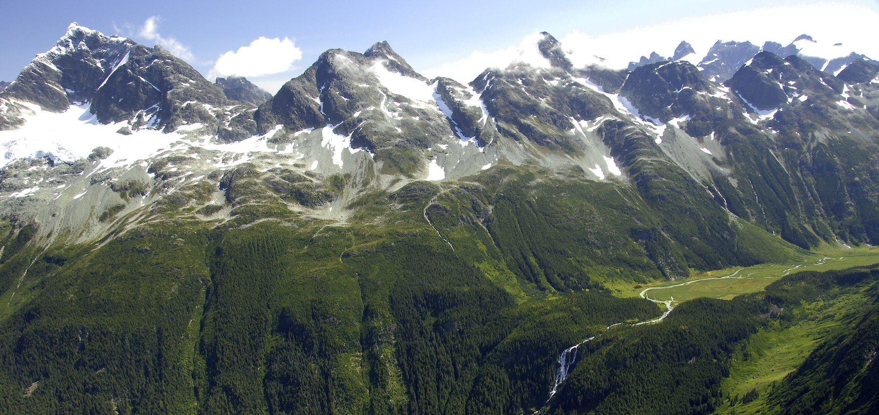 Bella Coola Great Bear Rainforest Odegaard Falls