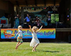 Fretless playing Bella Coola Music Festival