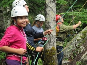 bella coola rock climbing