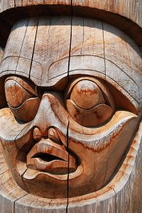 Bella Coola Carving