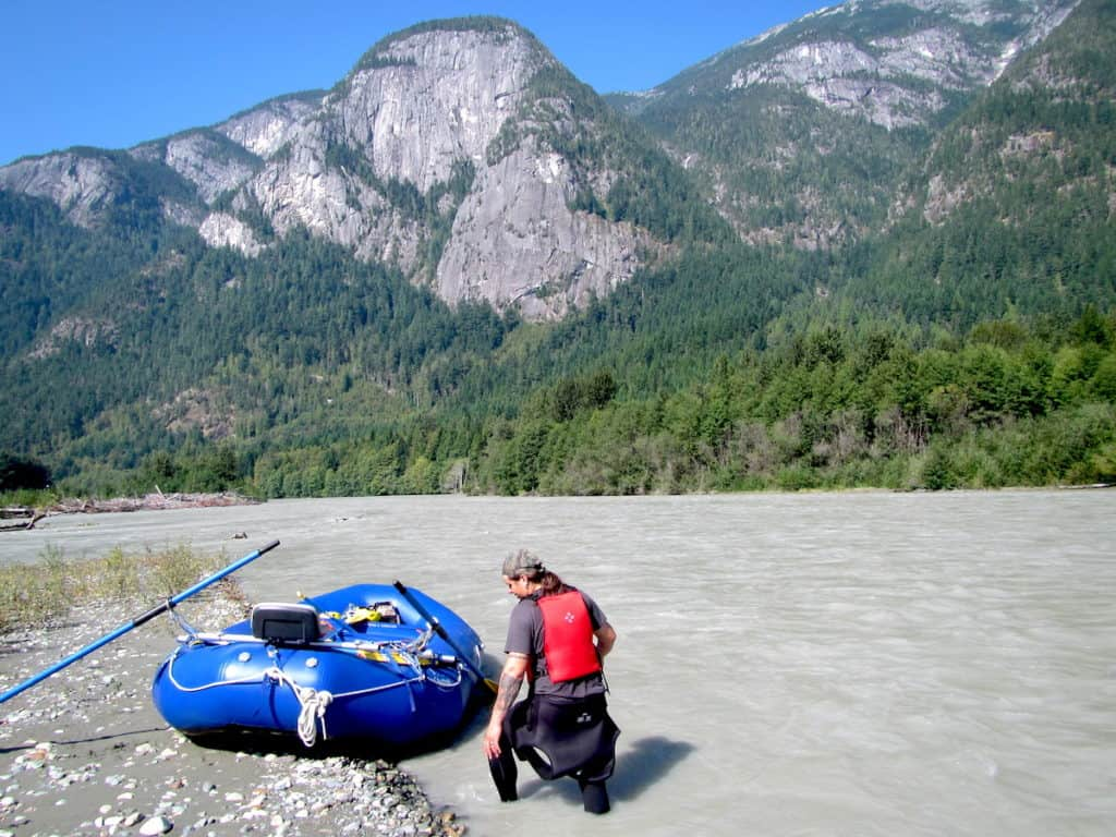 river rafting bella coola