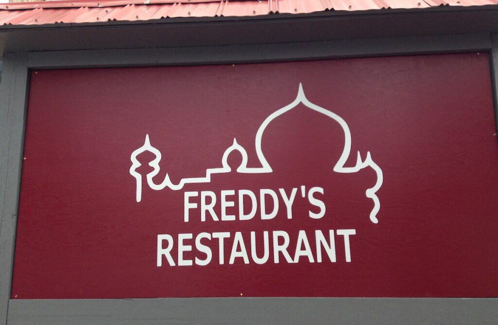 freddys restaurant sign