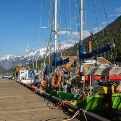 Bella Coola Harbour. Photo by Matthew Wheelock